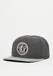 Snapback-Cap Rival light grey heather/charcoal heather