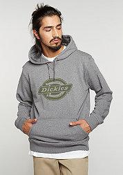 Hooded-Sweatshirt Delaware drk grey melange