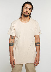 T-Shirt Long Tee sandshell