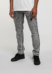 Denim Pant dark grey wash destroyed