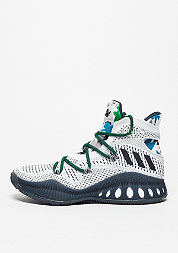 Basketballschuh Crazylight Explosive Primeknit white/collegiate navy/grey
