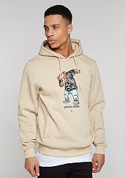Hooded-Sweatshirt Crew Dabbin sand/mc