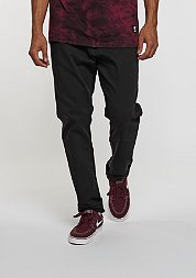 Jogger Jeans black knit denim