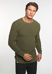 Sweatshirt Knitted olive
