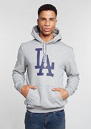 Hooded-Sweatshirt MLB Los Angeles Dodgers light grey heather