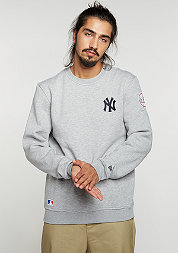 Sweatshirt MLB New York Yankees light grey heather