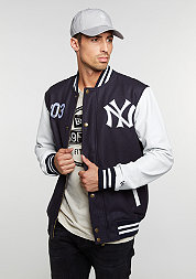 Übergangsjacke Cooperstown Letterman Jacket MLB New York Yankees navy