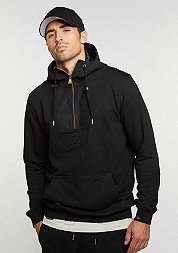 Hooded-Sweatshirt Crafted Hoody black