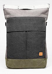 Rucksack Dermot grey/black