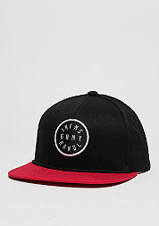 Snapback-Cap Smoky Alley black