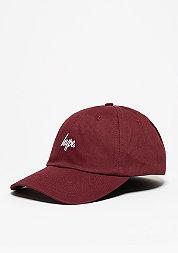 Baseball-Cap Script burgundy