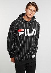 Hooded sweatshirt Kreed black pinstripe