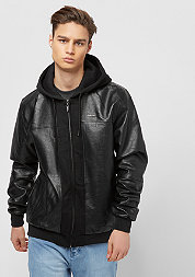 Übergangsjacke Mix-Up Hooded pitchblack