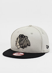 Snapback-Cap Contrast Seasonal Snap NHL Chicago Blackhawks stone/black