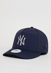 Snapback-Cap Aframe Perf Poly MLB New York Yankees navy
