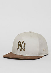 Snapback-Cap Classic Rust MLB New York Yankees off white/brown
