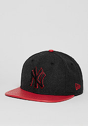 Heather Mix MLB New York Yankees grey/scarlet