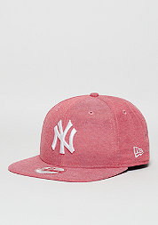 Snapback-Cap 9Fifty Oxford Lights MLB New York Yankees scarlet
