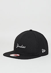 9Fifty Wool Wordmark MLB New York Yankees black/optic white