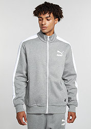 T7 Track Jacket medium grey heather