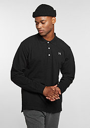 Longsleeve Polo black