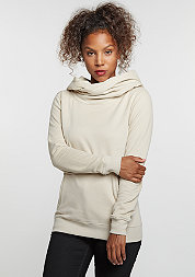 Hooded-Sweatshirt High Neck sand