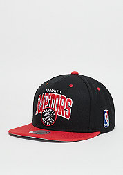 Snapback-Cap Team Arch NBA Toronto Raptors black/red