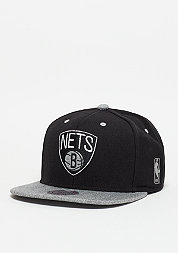 Snapback-Cap Greytist NBA Brooklyn Nets black/grey