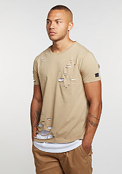 T-Shirt Kraged Beige