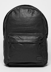 Rucksack Faux Leather black