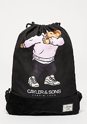 C&S Gymbag Dabbin Crew pink/black/multi