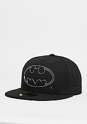 Fitted-Cap Remix Liquid Logo Batman black