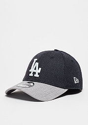 Baseball-Cap Heather Visor 39Thirty MLB Los Angeles Dodgers navy/grey