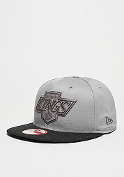 Snapback-Cap Heather Mix 9Fifty MLB Los Angeles Dodgers grey/black