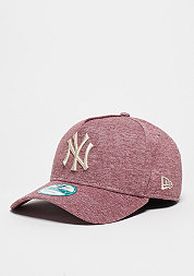 Baseball-Cap Jersey Flock MLB New York Yankees maroon