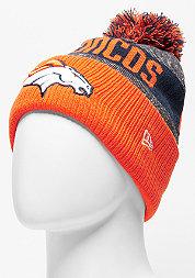 Beanie Sideline Bobble Knit NFL Denver Broncos official