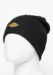 Beanie Jumpman black/metallic gold