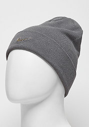 Beanie Swoosh dark grey/metallic silver