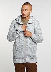 Hooded-Zipper Kloser Grey