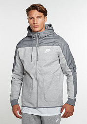 Hooded-Zipper Advance 15 dark grey heather/cool grey/white