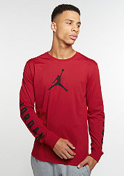 Flight 23 LS Dri-Fit gym red/black