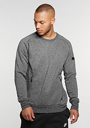 Sweatshirt Icon Fleece Crew black/black