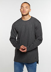 Longsleeve23 Lux Extended LS black heather/black