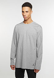 Longsleeve 23 Lux Extended dk grey heather/black