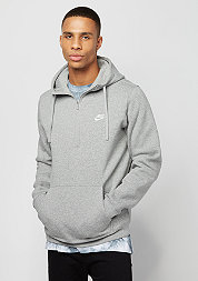 Hoodie HZ FLC Club dark grey heather/dark grey heather/white