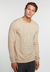 Sweatshirt Kiss beige