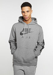 Hooded-Sweatshirt Fleece Airmax carbon heather/anthracite