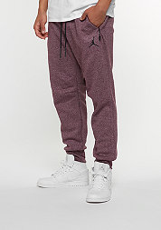Icon Fleece Cuff Pant might maroon/black