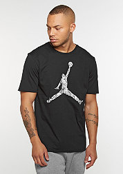 T-Shirt Jumpman Hands Down black/wolf grey/white