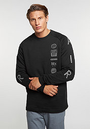 Sweatshirt Fleece Air Totem black/dark grey